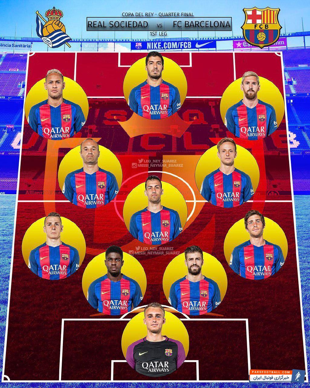 عکس تیم فوتبال بارسلونا
