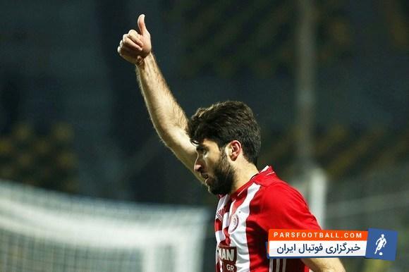 تمجید رسانههاى یونانى از انصاری فرد ؛ تمجیید رسانه های اروپایی از ستاره ایرانی