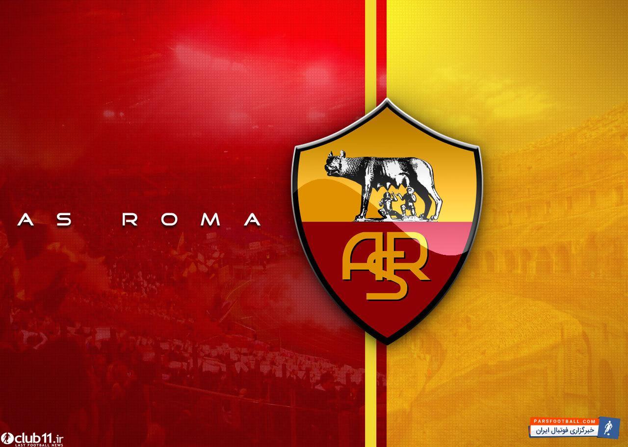 کلمنت گرنیر و تصویری از امضای قرارداد با تیم آ اس رم ایتالیا