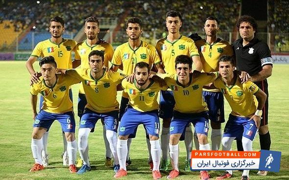 اعلام ترکیب اصلی بازیکنان تیم فوتبال صنعت نفت آبادان مقابل صبای قم