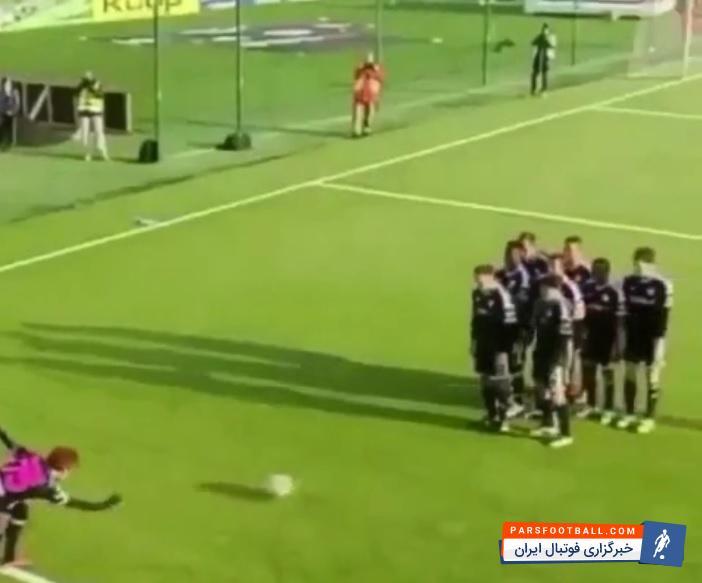 کلیپی جالب از شادی پس از گل به سبک بازی بولینگ توسط بازیکنان ؛ پارس فوتبال