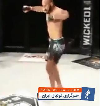 کلیپی از رقص و شادی ورزشکاران حرفه ای آذربایجانی پس از پیروزی در مسابقات