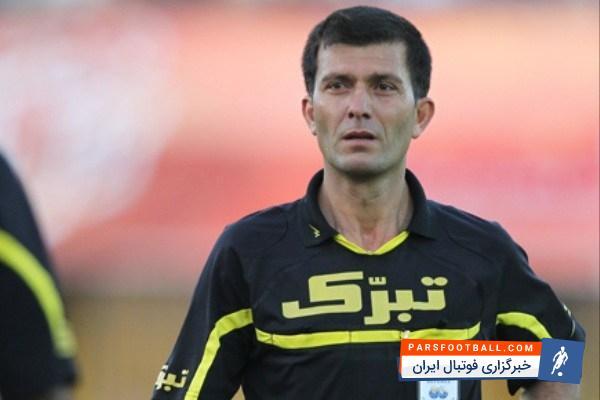 تمسخر و توهین وکیل سرمربی نفت تهران به تورج حق وردی داور بازی استقلال -نفت