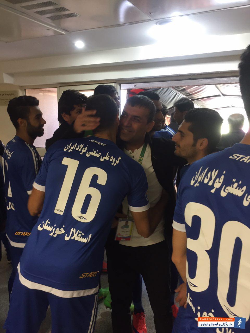 عبدالله ویسی :امیدوارم دربی خوبی در پیش باشد | خبرگزاری ورزشی پارس فوتبال