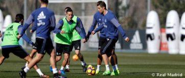 آماده سازی رئال مادرید برای بازی با والنسیا