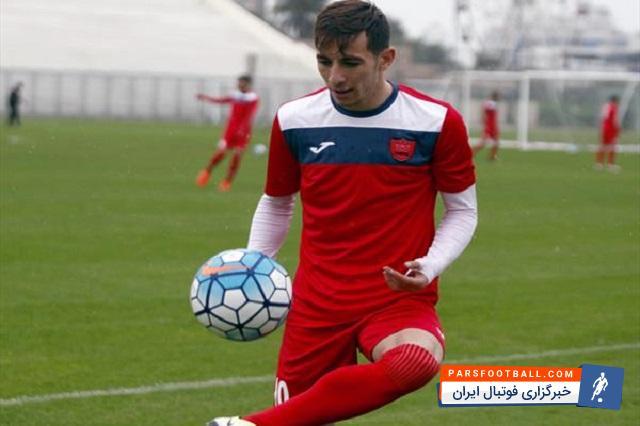 احمدزاده در تمرین صبح پرسپولیس حاضر شد ؛ بازیکن محبوب برانکو در تمرین پرسپولیس