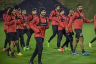 هواداران تیم الوحده امارات