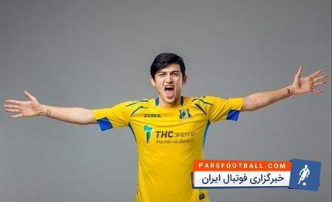 سردار آزمون به عنوان چهارمین بازیکن سال فوتبال روسیه انتخاب شد ؛ پارس فوتبال