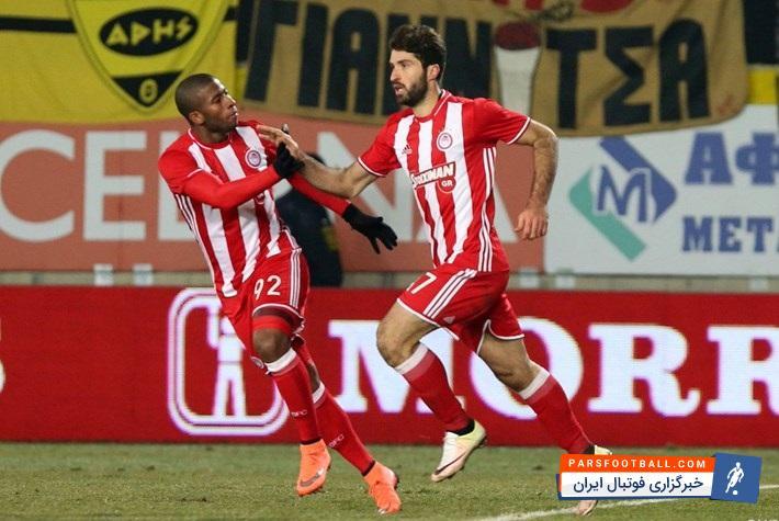 کلیپ گلزنی کریم انصاری فرد در شب پیروزی المپیاکوس ؛ پارس فوتبال