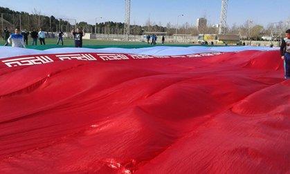 سه جایگاه برای هواداران چین خالی ماند ؛ چینی ها هواداران تیم ملی را از هم پاشاندند