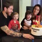 کلیپی از جشن تولد خانوادگی سرخیو راموس