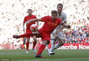 عملکرد جرارد بازیکن لیورپول در مقابل اساطیر رئال مادرید