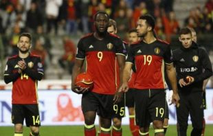 عملکرد لوکاکو بازیکن بلژیک در دیدار برابر یونان
