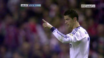 عملکرد رونالدو بازیکن رئال مادرید در برابر بیلبائو
