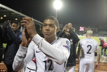 عملکرد کیلیان امباپه بازیکن فرانسه در دیدار برابر اسپانیا