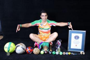 مهدی حب درویش فوتبالیست ایرانی رکورددار روپایی سرعتی