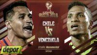 خلاصه بازی شیلی 3-1 ونزوئلا مقدماتی جام جهانی 2018 روسیه