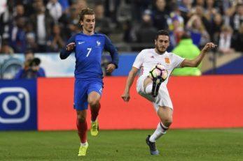 عملکرد گریزمان بازیکن فرانسه در دیدار برابر اسپانیا