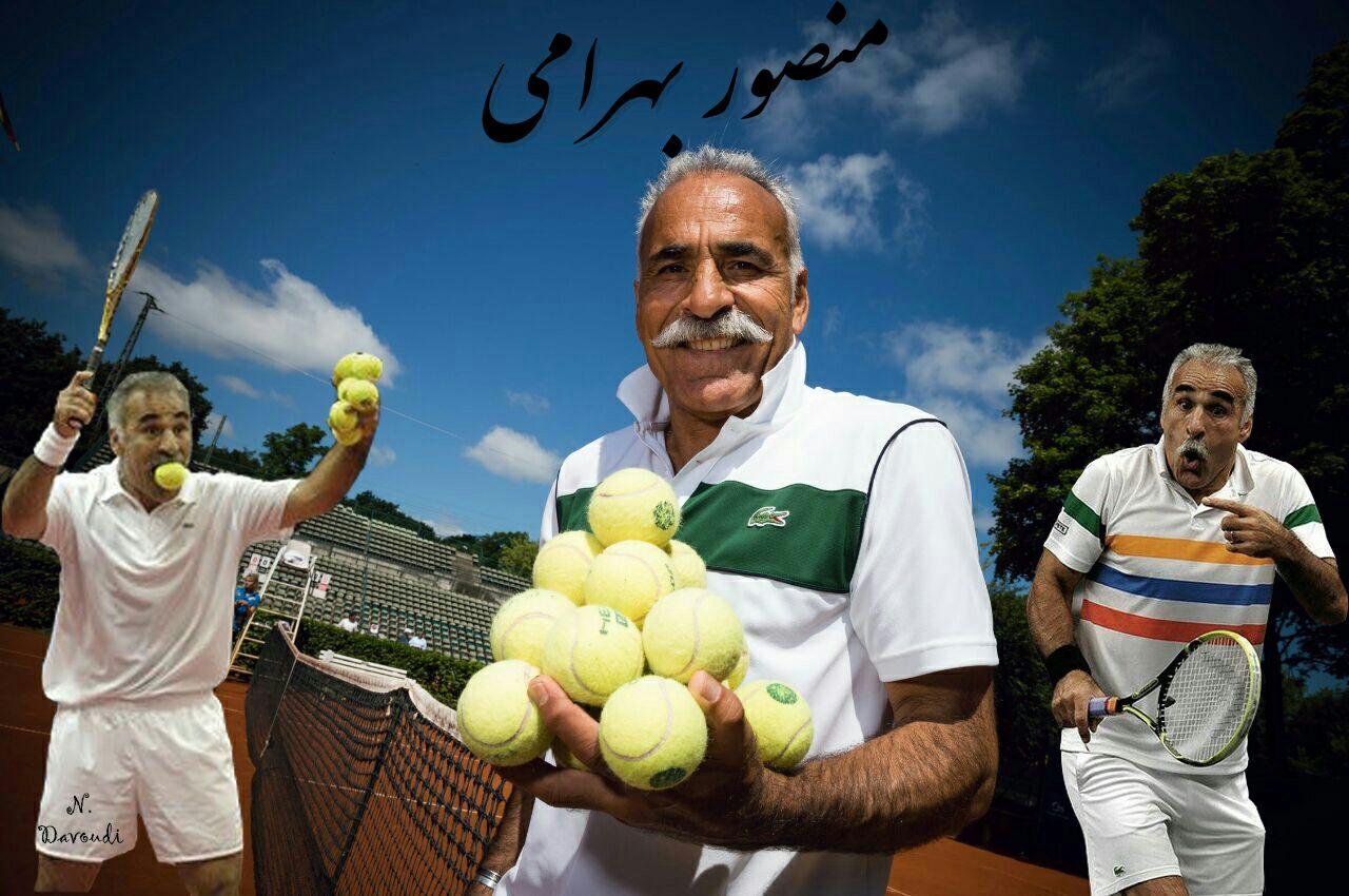 کلیپی از هنرنمایی های جالب، منصور بهرامی در مسابقات خیریه گلاسگو ؛ پارس فوتبال