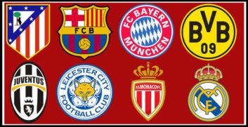 مرحله یک چهارم نهایی لیگ قهرمانان اروپا