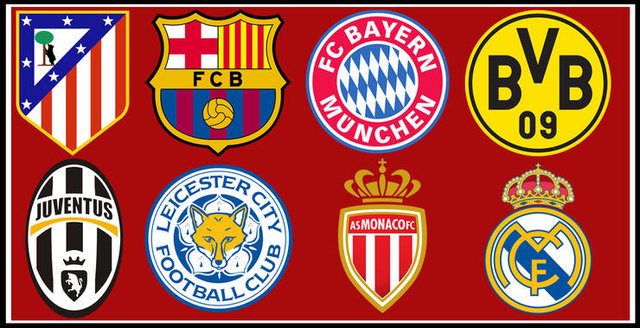 کلیپی زیبا از آمار و ارقام تیم های صعود کرده به مرحله یک چهارم لیگ قهرمانان اروپا ؛ پارس فوتبال