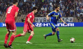 خلاصه بازی بوسنی 5-0 جبل الطارق