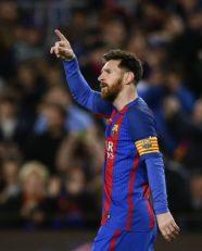 عملکرد مسی بازیکن بارسلونا در دیدار برابر لاکرونیا