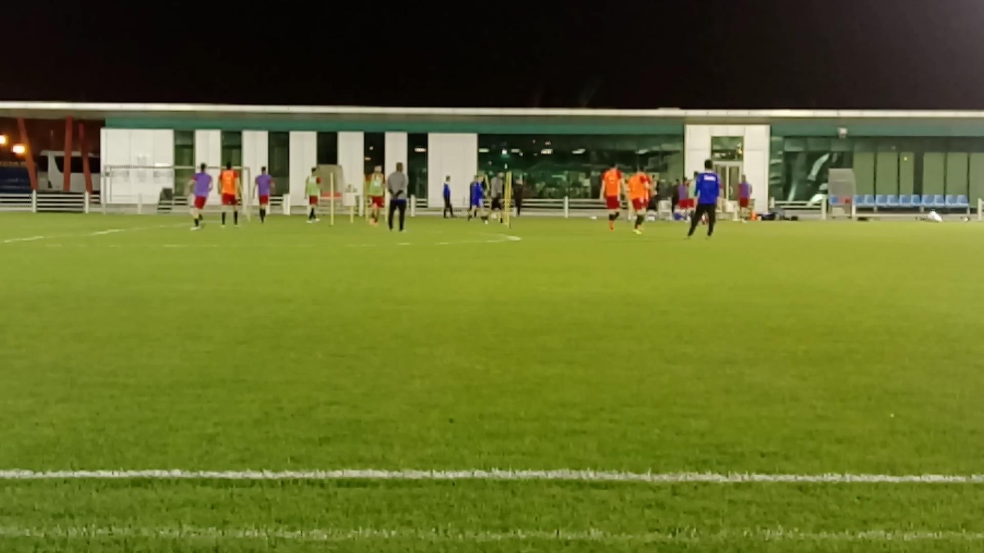 گزارش یاسر اشراقی خبرنگار صدا و سیما از آخرین تمرینات تیم ملی فوتبال در دوحه ی قطر