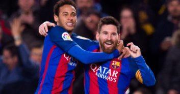 عملکرد مسی بازیکن بارسلونا در بازی برابر سلتاویگو