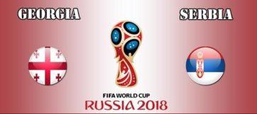 خلاصه بازی گرجستان و صربستان
