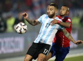عملکرد اوتامندی بازیکن آرژانتین در دیدار برابر شیلی
