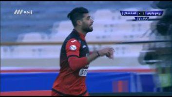 گل اول پرسپولیس به استقلال خوزستان