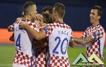 خلاصه بازی کرواسی 1-0 اوکراین