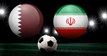 بازی تیم ملی فوتبال ایران و قطر