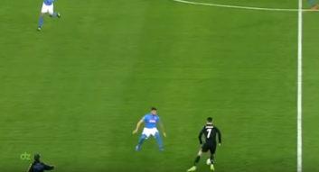 عملکرد رونالدو فوق ستاره رئال مادرید در دیدار برابر ناپولی