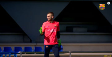 بازگشت ملی پوشان تیم بارسلونا به تمرینات تیم