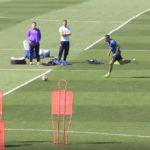 تمرین امروز تیم فوتبال رئال مادرید