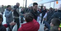 دیدار فالکائو ستاره موناکو با طرفداران