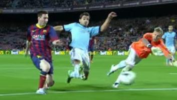 عملکرد اعجاب انگیز مسی ستاره بارسلونا در برابر سلتاویگو