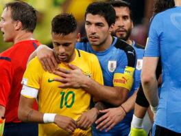 خلاصه بازی اروگوئه 1-4 برزیل مقدماتی جام جهانی منطقه آمریکای جنوبی