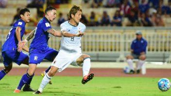 خلاصه بازی تیم فوتبال ژاپن و تایلند