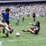عملکرد بی نظیر مارادونا در دیدار برابر انگلیس جام جهانی 1986
