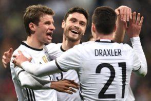 عملکرد دراکسلر بازیکن آلمان در دیدار برابر آذربایجان