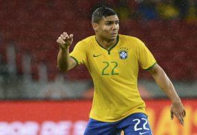 عملکرد کاسیمیرو بازیکن برزیل در دیدار برابر اروگوئه