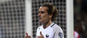 عملکرد گریزمان بازیکن فرانسه در دیدار برابر لوگزامبورگ