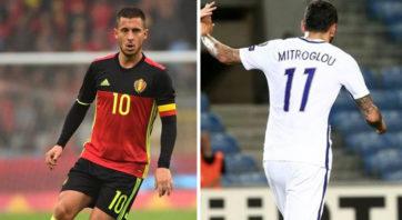 خلاصه بازی بلژیک 1-1 یونان
