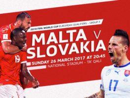 خلاصه بازی مالت 1-3 اسلواکی مقدماتی جام جهانی 2018 روسیه