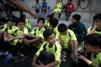 لیگ فوتبال کودکان کار لیگ کودکان کار