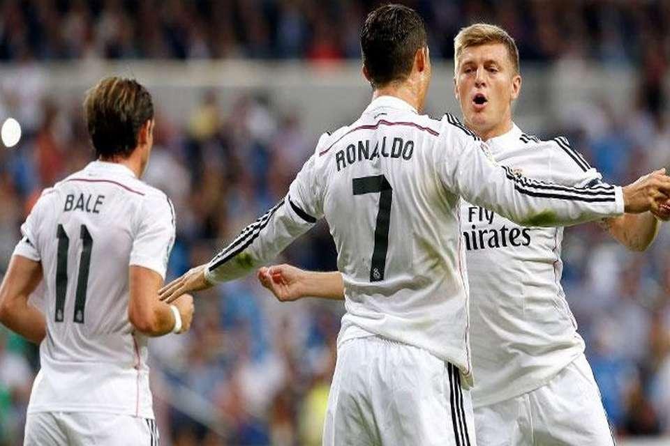 رئال مادرید در مقابل لاکرونیا تیزر جالب از باشگاه رئال ؛ دانلود رایگان از پارس فوتبال
