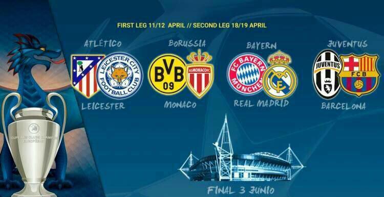 فیلم ؛ نگاهی به هشت تیم مرحله یک چهارم نهایی لیگ قهرمانان اروپا ؛ پارس فوتبال